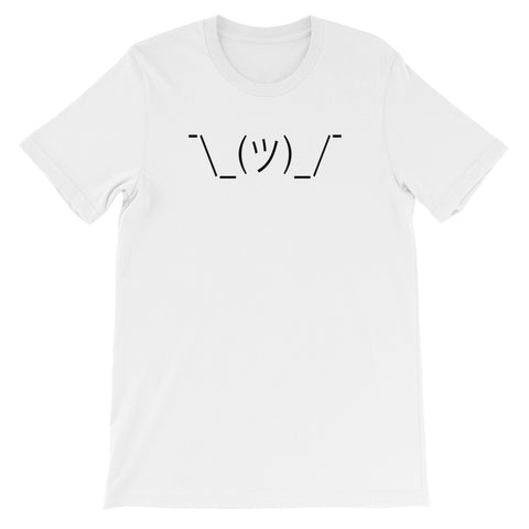 ASCII ART SHRUG<br> Women's Short Sleeve<br> (Ver. 1B)