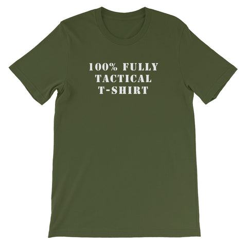100% FULLY TACTICAL<br> Men's Short Sleeve<br> (Ver. 1W)