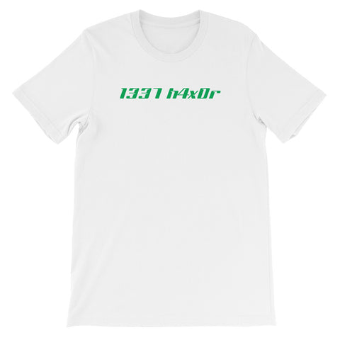1337 h4x0r<br> Women's Short Sleeve<br> (Ver. 1G)
