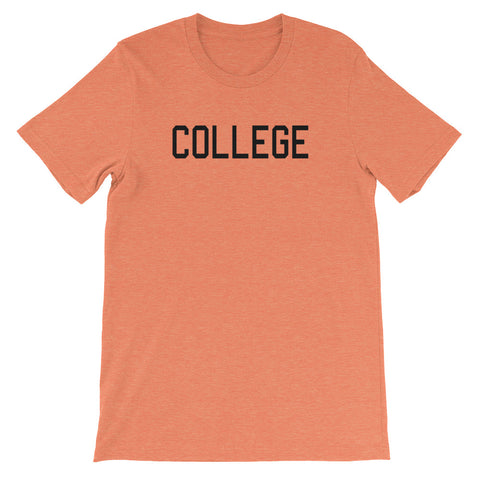 COLLEGE<br> Women's Short Sleeve<br> (Ver. 1B)