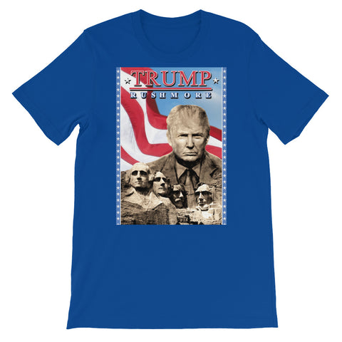 TRUMP RUSHMORE<br> Men's Short Sleeve<br><br>