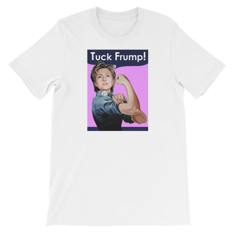 HILLARY TUCK FRUMP!<br> Women's Short Sleeve<br><br>