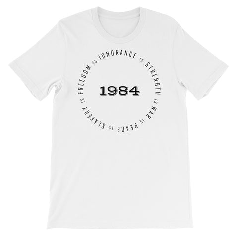 1984 WAR IS PEACE<br> Men's Short Sleeve<br> (Ver. 1B)