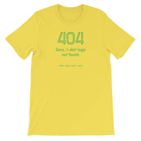 404 ERROR<br> Women's Short Sleeve<br><br>