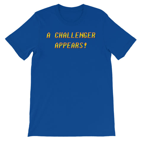 A CHALLENGER<br>APPEARS!<br>Men's Short Sleeve
