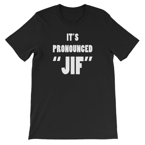 "PRONOUNCED ""JIF""<br> Men's Short Sleeve<br> (Ver. 1W)"