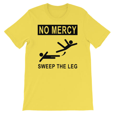 NO MERCY<br> SWEEP THE LEG<br> Men's Short Sleeve