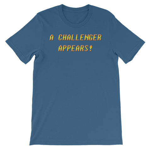A CHALLENGER<br>APPEARS!<br>Women's Short Sleeve