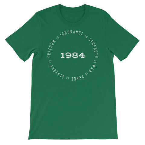 1984 WAR IS PEACE<br> Women's Short Sleeve<br> (Ver. 1W)