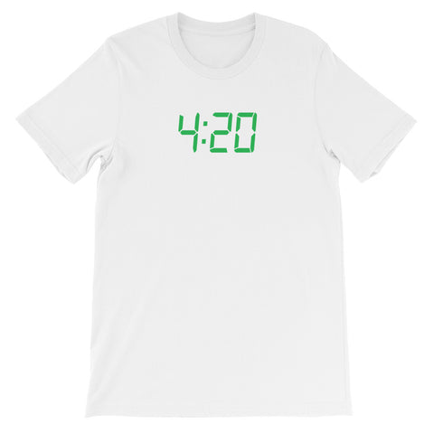 4:20 CLOCK<br> Men's Short Sleeve<br><br>
