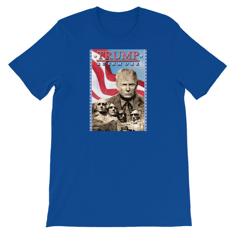 TRUMP RUSHMORE<br> Women's Short Sleeve<br><br>