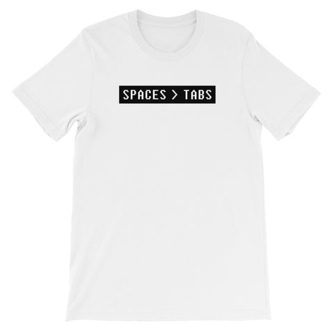 SPACES > TABS<br> Women's Short Sleeve<br> (Ver. 2W)