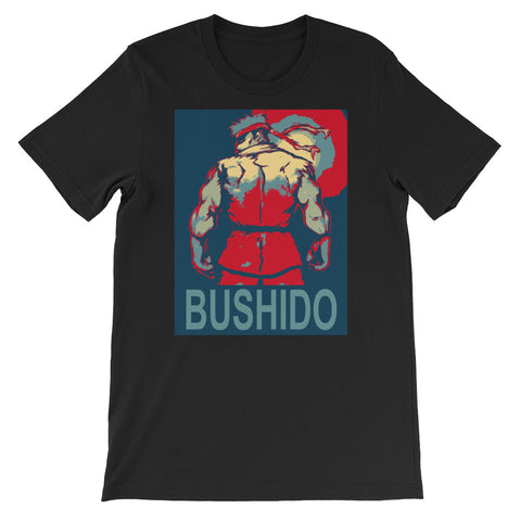 "MARTIAL ARTIST ""BUSHIDO""<br> Men's Short Sleeve<br>"
