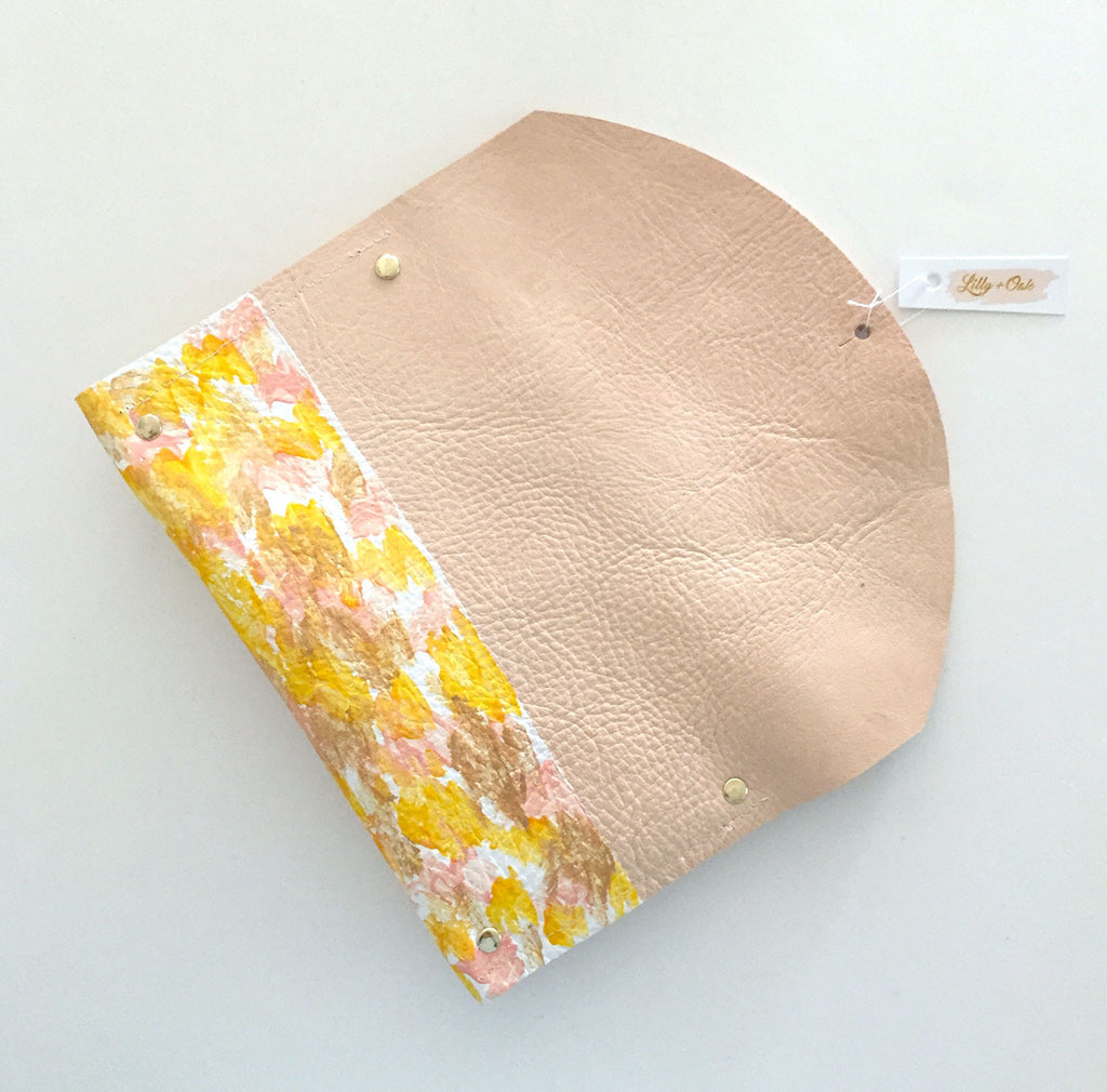 The Floral Julian Clutch