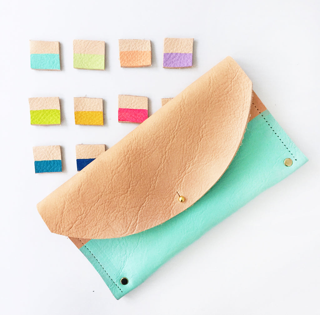 The Rainbow Dip Julian Clutch