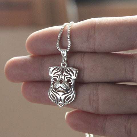 Pug Face Necklace