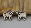 Image of Vintage Pug  Necklace