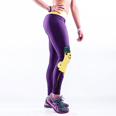 3D Printed PUG Workout Leggings