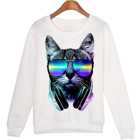 Cat Rules Sweatshirt Perfect gift for cat lovers