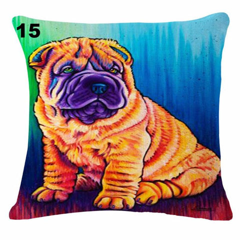 Cute Dog Throw Pillow Case [20 variants] BUY 1 GET 1 FREE