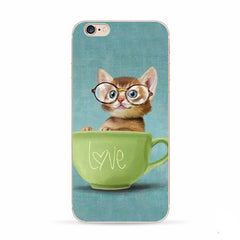 Image of Apple Iphone 6  6s Cute Kitten Case 4