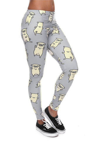 PUGS WOMEN LEGGINGS