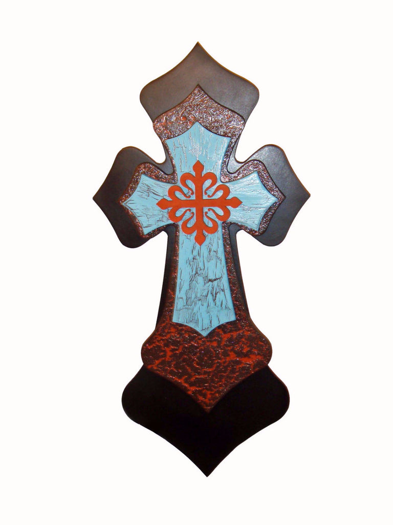 Unfinished wooden crosses for crafts -  Craft Supply 49 99 Decorative Wall Cross