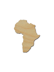 Africa Country Wood Cutout