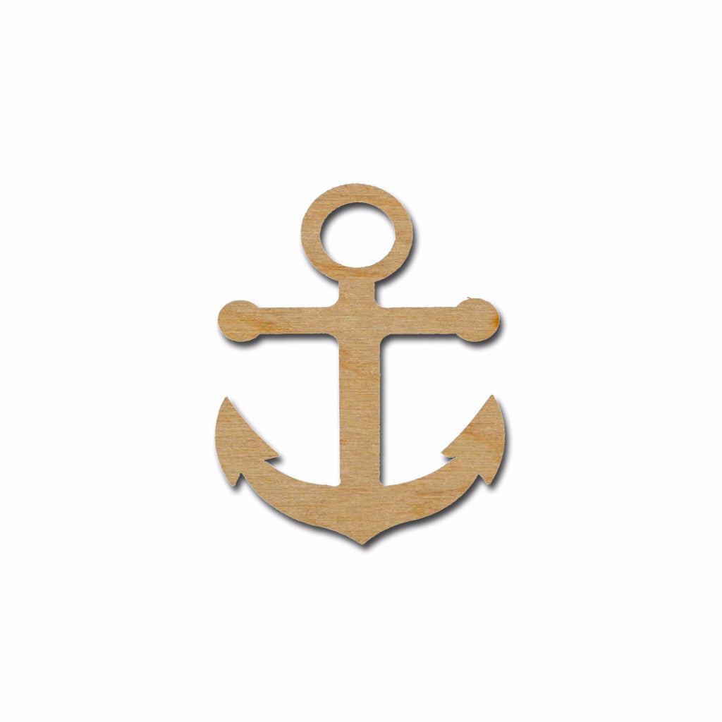 Anchor Wood Shape Cutout