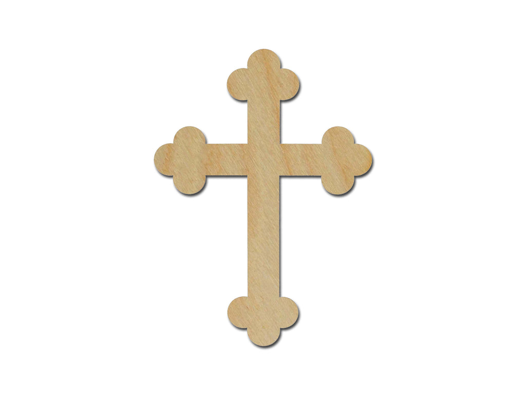 Unfinished Wood Cross MDF Craft Crosses Variety of Sizes C018