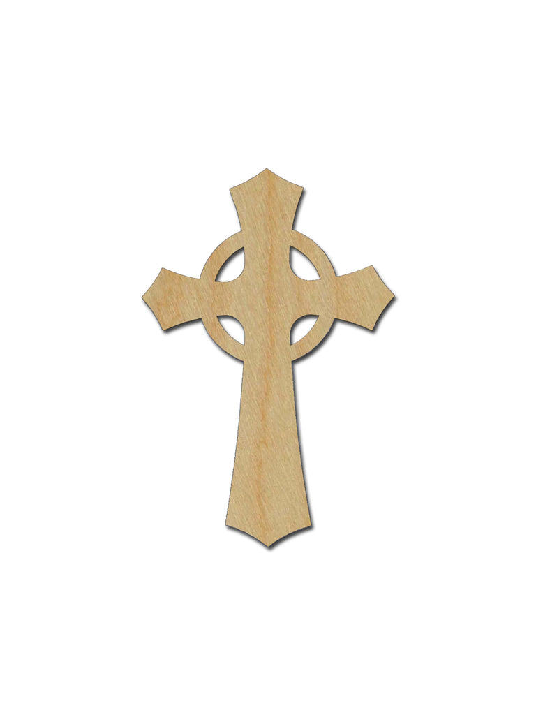 Unfinished Wood Cross MDF Craft Crosses Variety of Sizes  C044