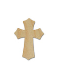 Unfinished Wood Cross MDF Craft Crosses Variety of Sizes C043