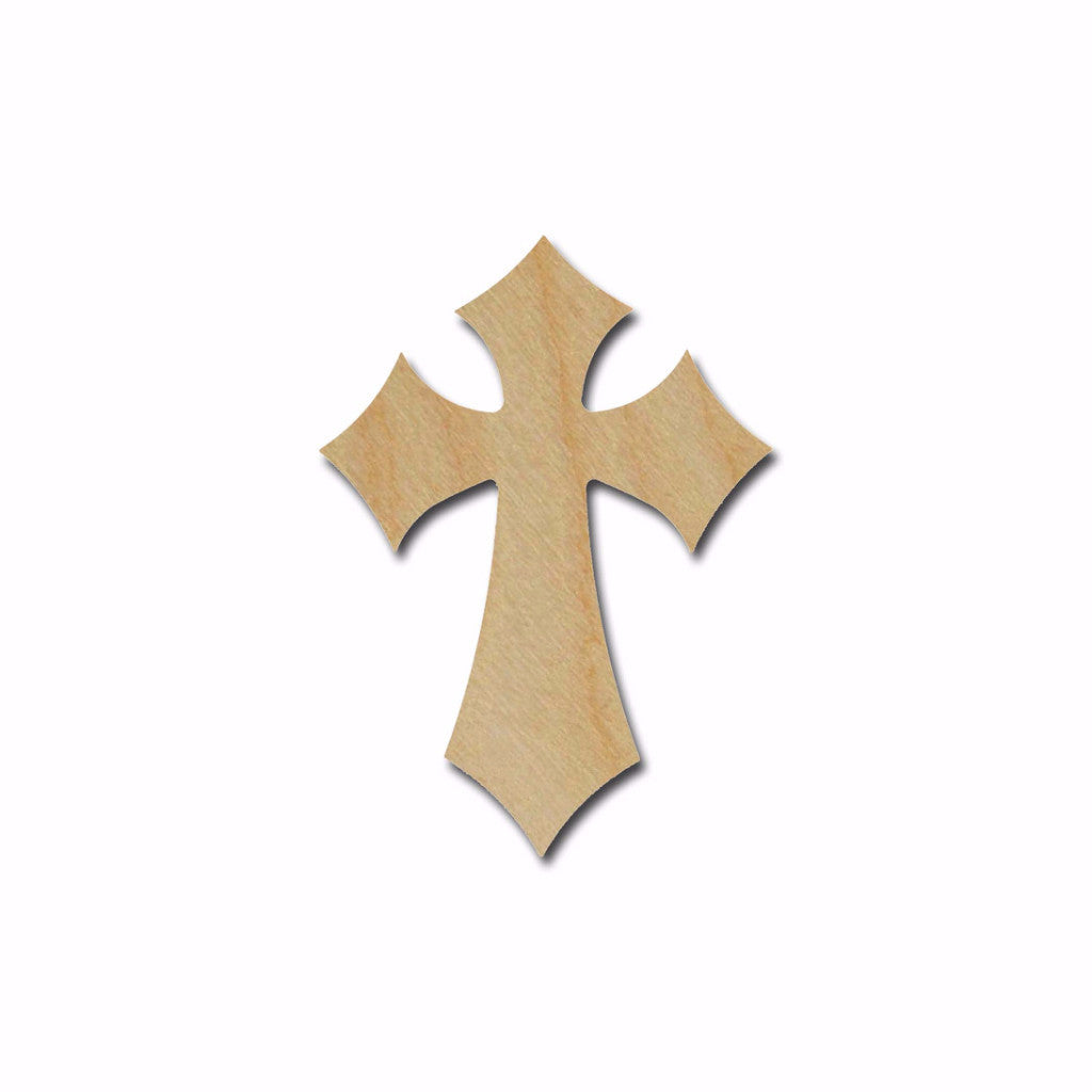 Unfinished Wood Cross MDF Craft Crosses Variety of Sizes C120