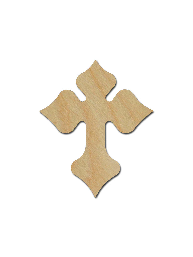 Unfinished Wood Cross MDF Craft Crosses Variety of Sizes C123
