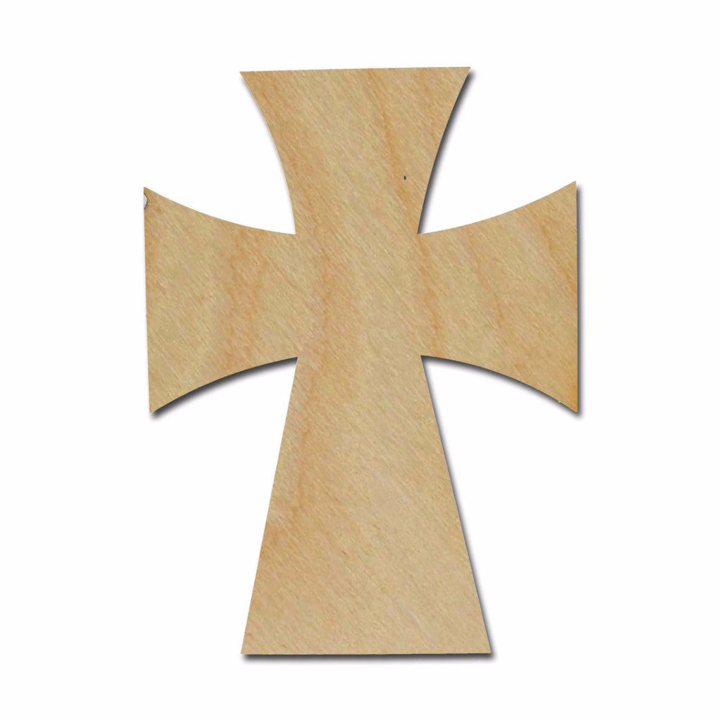 Unfinished Wood Cross MDF Craft Crosses Variety of Sizes C125