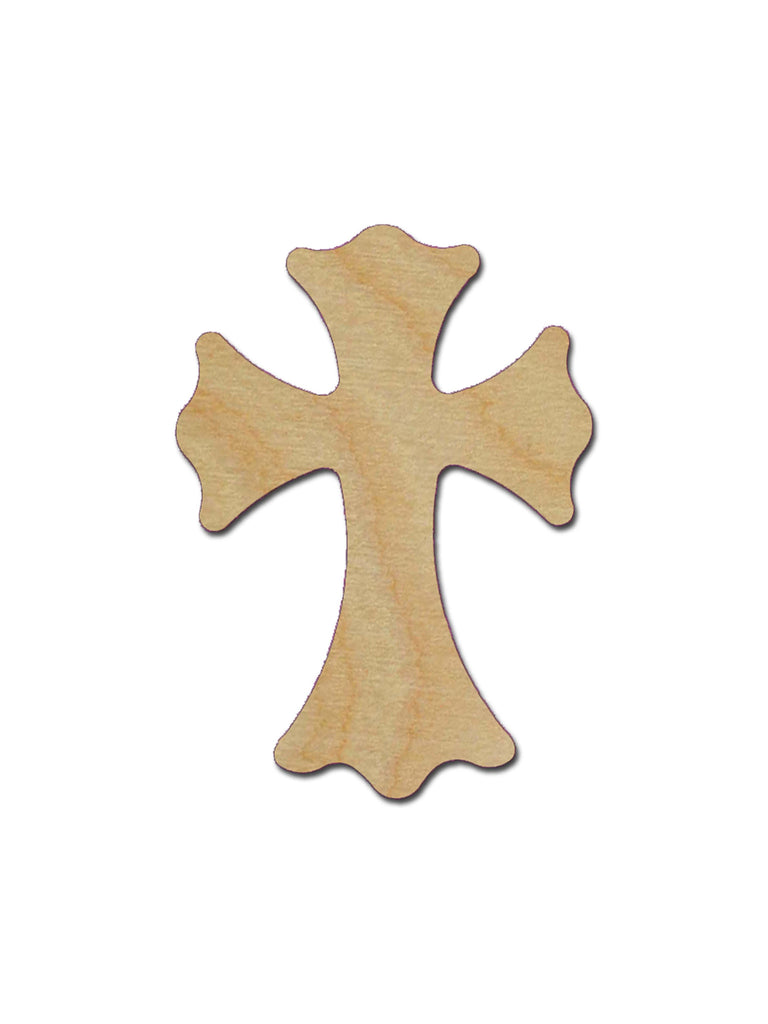 Unfinished Wood Cross Cutout MDF Craft Crosses Variety of Sizes C129