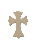 Unfinished Wood MDF Cross