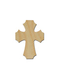 Unfinished Wood Cross MDF Craft Crosses Variety of Sizes C150