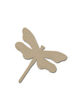 Dragonfly Shape Unfinished MDF Cutouts