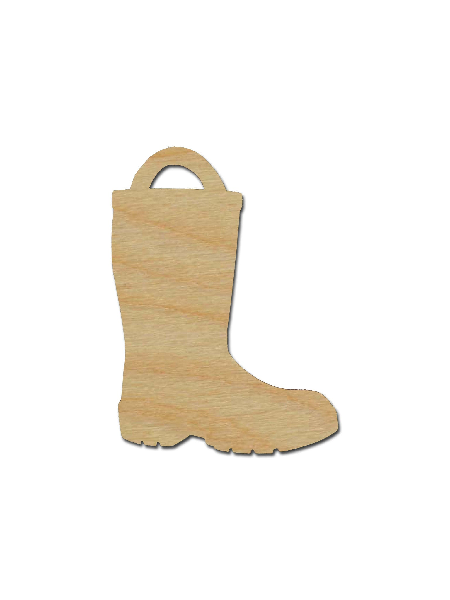 Fireman Boot Unfinished Wood Cutouts