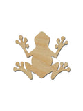 Frog Shape Unfinished Wood Cutouts