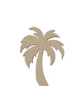 palm tree wood cutout MDF