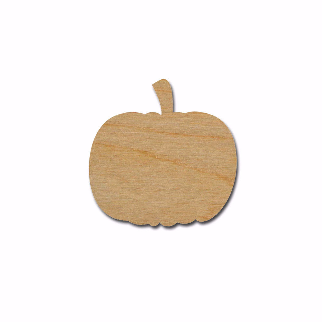 Pumpkin Shape Variety of Sizes Unfinished Wood Halloween Craft Cut Outs Artistic Craft Supply
