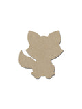 Raccoon Shape MDF Animal Craft Cutout