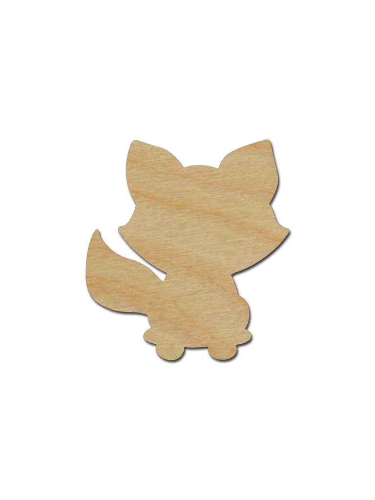 Raccoon Shape Unfinished Wood Animal Craft Cutout Variety of Sizes