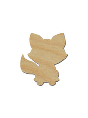Raccoon Shape Wood Cutout