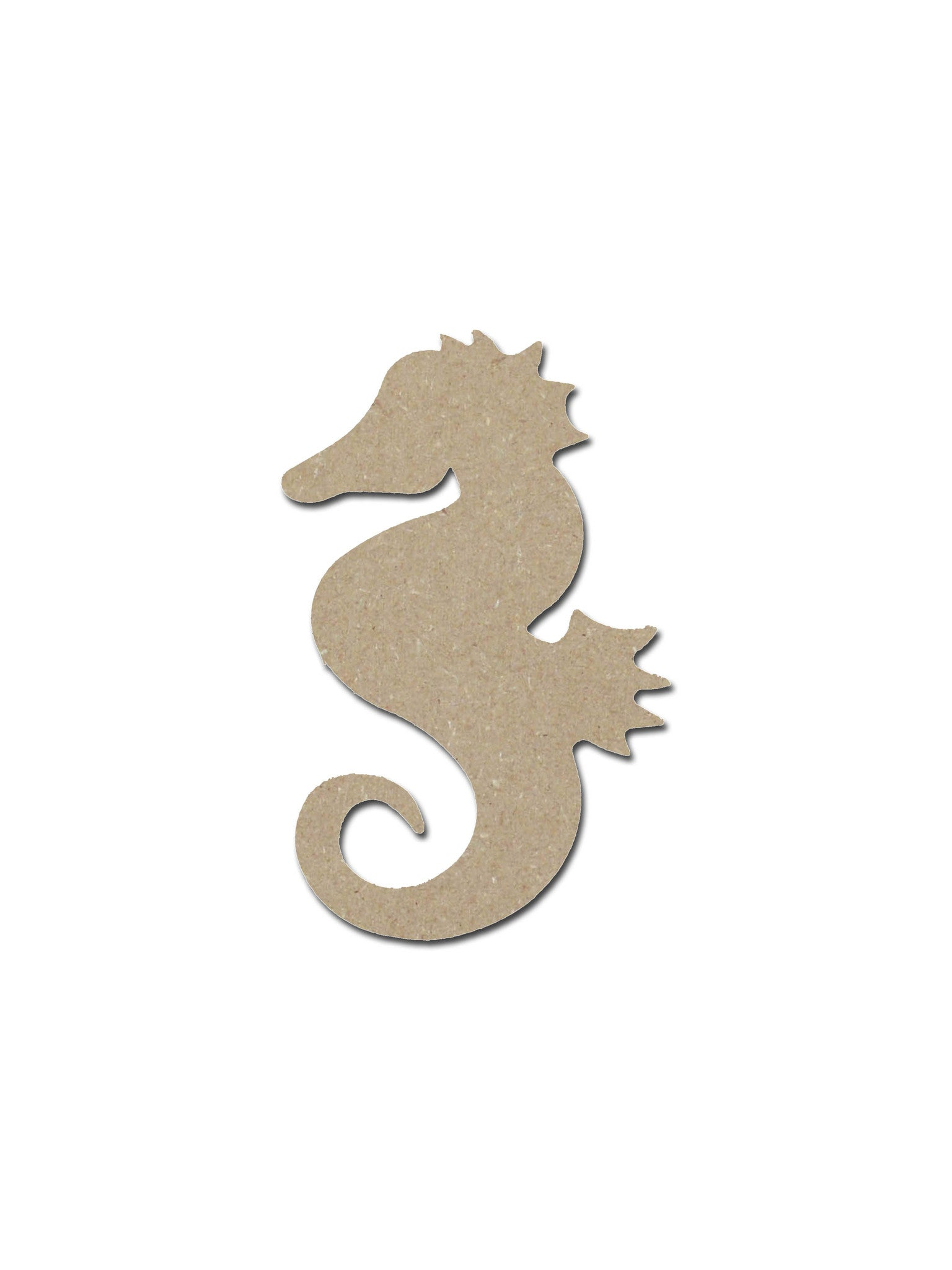 seahorse unfinished wood cutouts artistic craft supply