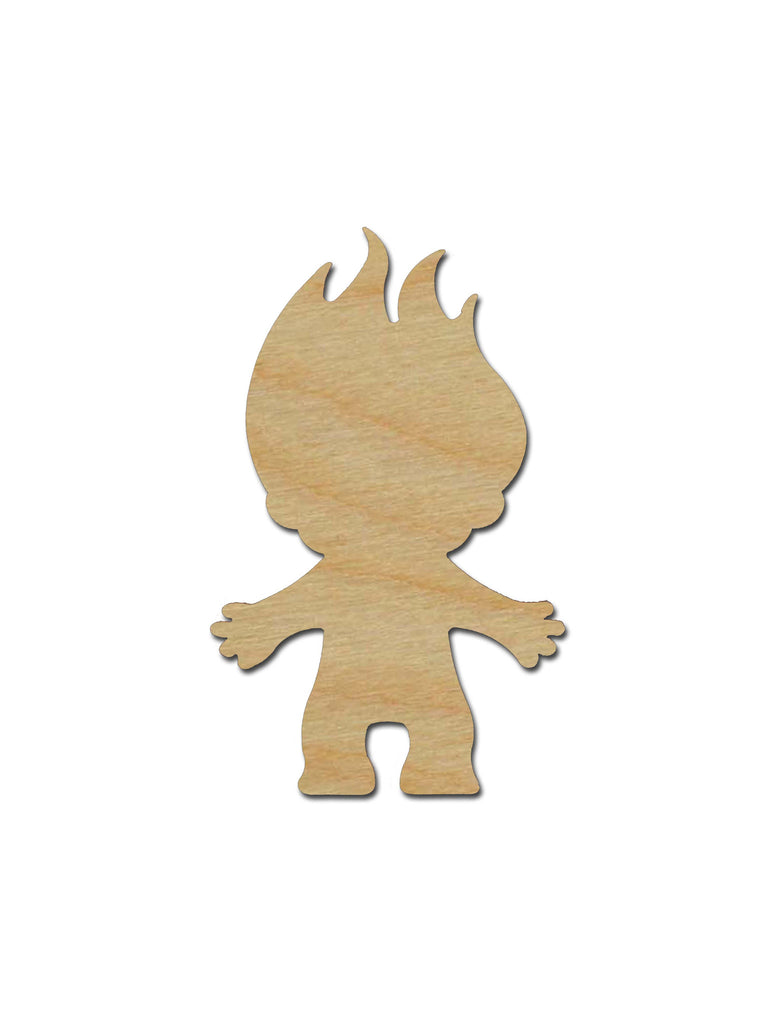 Troll Unfinished Wood Cutout Variety of Sizes Artistic Craft Supply