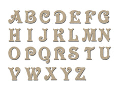 Wood Letters Unfinished MDF Craft Cut Outs