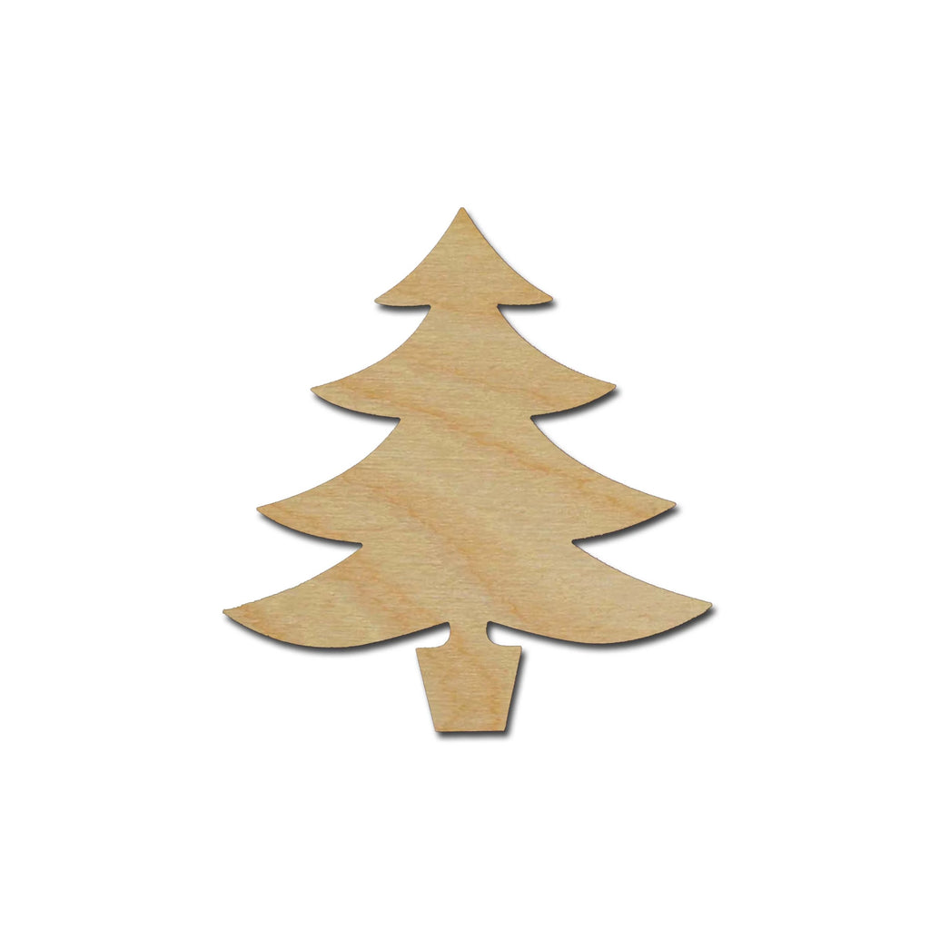 Products christmas tree cutout artistic craft supply for Wooden christmas cutouts